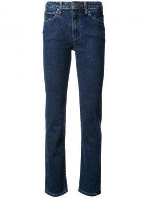 Прямые джинсы Simon Miller. Цвет: синий