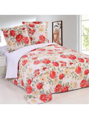 Постельное белье Vesta 1,5 сп. Amore Mio. Цвет: персиковый, красный