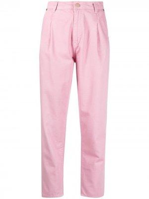 Укороченные брюки Zerror Essentiel Antwerp. Цвет: розовый