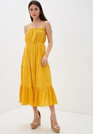 Сарафан Y.A.S. Цвет: желтый