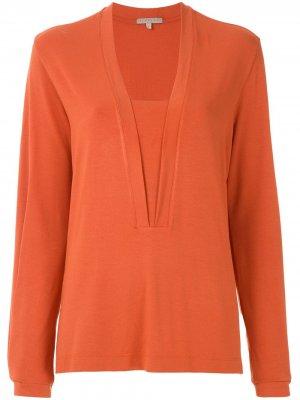 Блузка Rober Alcaçuz. Цвет: оранжевый