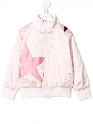 Куртка-бомбер Hazel с нашивкой Molo. Цвет: розовый