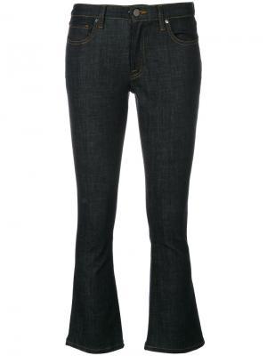 Укороченные джинсы клеш Victoria Beckham. Цвет: синий