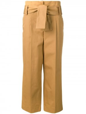 Классические прямые брюки Dorothee Schumacher. Цвет: коричневый