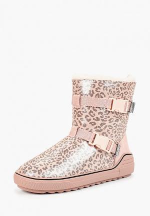 Полусапоги Grand Style. Цвет: розовый