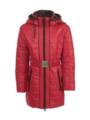 Пальто Arista. Цвет: темно-красный