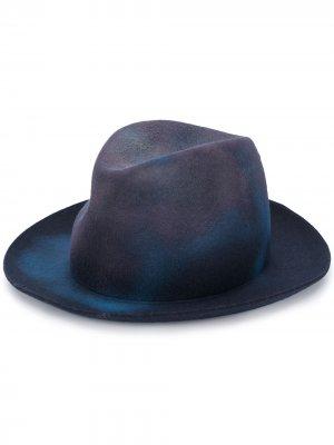 Шляпа с эффектом омбре Forte. Цвет: синий