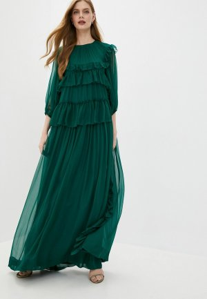 Платье N21. Цвет: зеленый