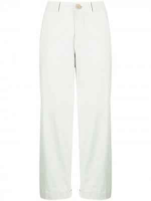 Укороченные брюки Toogood. Цвет: зеленый