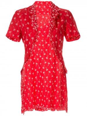 Комплект из платья, нижней юбки и болеро Comme Des Garçons Pre-Owned. Цвет: красный