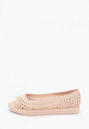 Балетки Melissa. Цвет: розовый