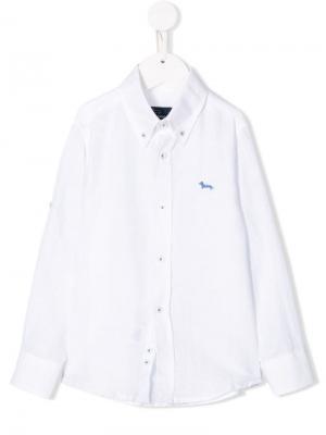 Рубашка на пуговицах Harmont & Blaine Junior. Цвет: белый
