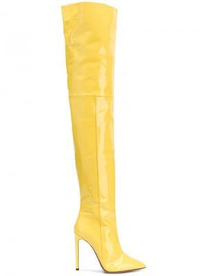 Thigh-high boots Marco Bologna. Цвет: желтый