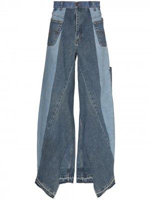 Широкие джинсы Unified Liam Hodges. Цвет: синий