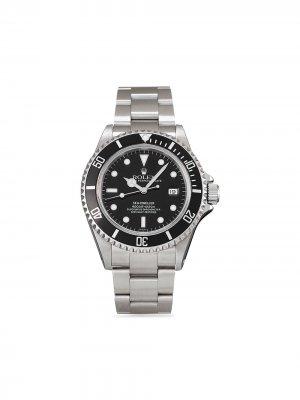 Наручные часы Sea-Dweller pre-owned 40 мм 1999-го года Rolex. Цвет: черный