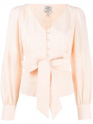 Блузка Mae с поясом Baum Und Pferdgarten. Цвет: оранжевый
