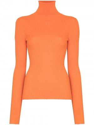 Водолазка Stacy в рубчик Dodo Bar Or. Цвет: оранжевый