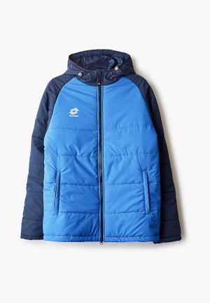 Куртка утепленная Lotto. Цвет: синий
