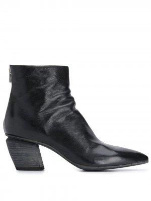 Ботинки по щиколотку с заостренным носком Officine Creative. Цвет: черный