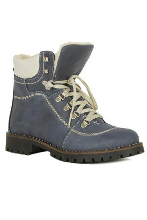 Ботинки Alessandro. Цвет: синий