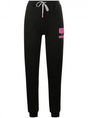 Спортивные брюки Eyelike Chiara Ferragni. Цвет: черный