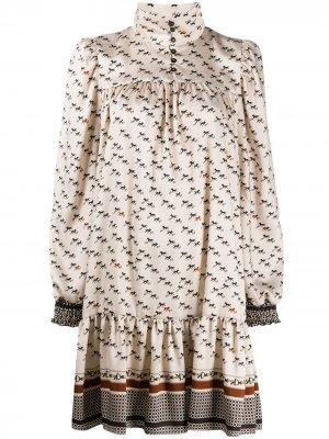 Платье с принтом Altea. Цвет: нейтральные цвета