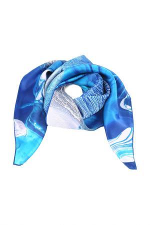 Платок MOLTINI. Цвет: синий