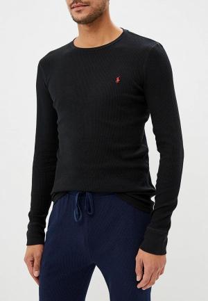 Лонгслив домашний Polo Ralph Lauren. Цвет: черный