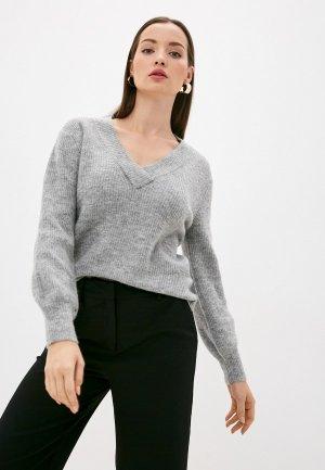 Пуловер b.young. Цвет: серый