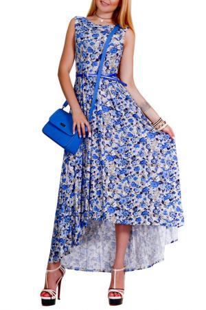Платье Patricia B.. Цвет: голубой