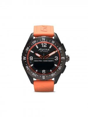 Наручные часы AlpinerX Smartwatch 45 мм Alpina. Цвет: черный-orange