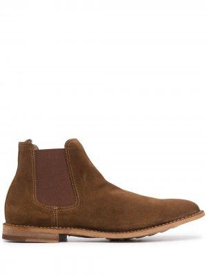 Ботинки челси Steple Officine Creative. Цвет: коричневый