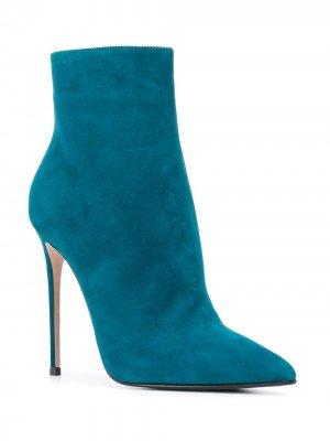 Ботильоны Eva Le Silla. Цвет: синий