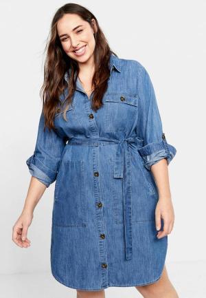 c13e8c7d Женские джинсовые платья Mango купить в интернет-магазине LikeWear ...