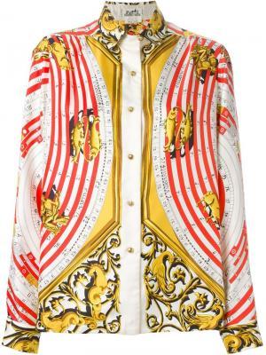 Рубашка Dies et Hores Hermès Vintage. Цвет: красный