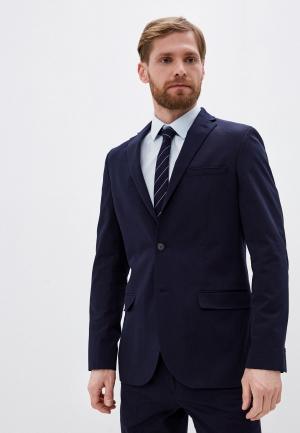 Пиджак Marks & Spencer. Цвет: синий