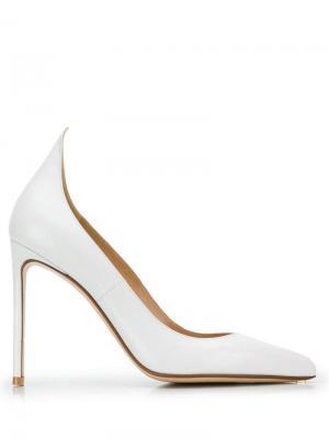 Туфли-лодочки Francesco Russo. Цвет: белый