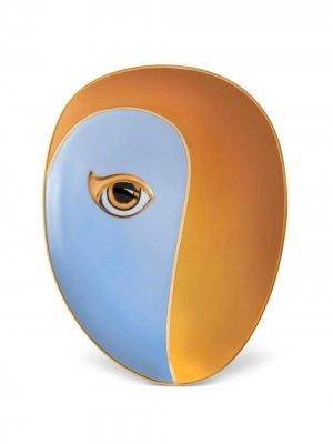 LObjet тарелка с позолотой из коллаборации Lito L'Objet. Цвет: синий