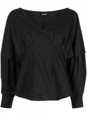 Блузка Revision объемными рукавами Rachel Comey. Цвет: черный