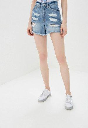 Шорты джинсовые BlendShe. Цвет: голубой