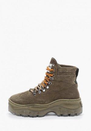 Ботинки Bronx. Цвет: хаки