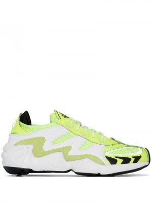 Кроссовки FYW S-97 adidas. Цвет: зеленый