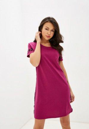 Сорочка ночная Vis-a-Vis. Цвет: розовый
