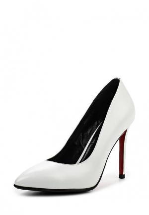 Туфли Inario. Цвет: белый
