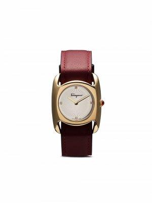 Кварцевые наручные часы Vara Salvatore Ferragamo Watches. Цвет: белый