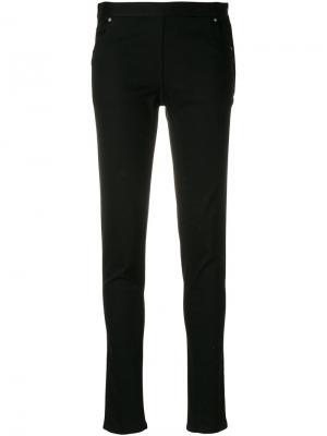 Эластичные брюки Chalayan. Цвет: черный
