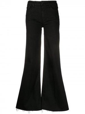 Расклешенные джинсы Not Guilty Mother. Цвет: черный