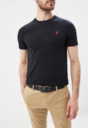 Футболка Polo Ralph Lauren. Цвет: черный