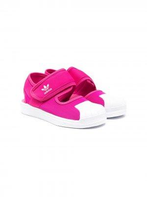 Сандалии Superstar 360 adidas Kids. Цвет: розовый