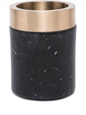 Маленький контейнер Coppa Michael Verheyden. Цвет: черный